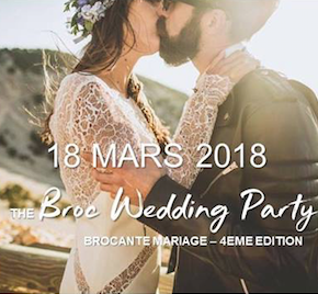 Broc' Wedding party : le paradis des futurs mariés