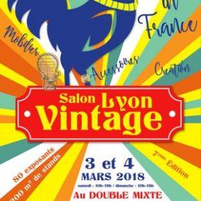 7e salon du vintage à Lyon