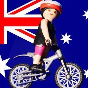 Une lyonnaise, un vélo et 10 000km à travers l'Australie pour lutter contre le cancer !