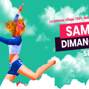 Le village detox party débarque à Lyon !