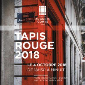 La soirée «Tapis rouge» de la rue Auguste Comte est de retour !