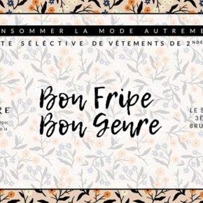 Bon Fripe Bon Genre est de retour cet automne à Lyon !