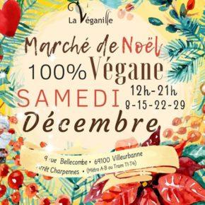 Un Marché de Noël Végane pose ses valises à Villeurbanne !