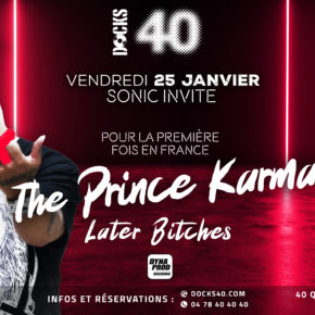 EXCLU : le phénomène mondial The prince Karma, pour la première fois en France au DOCKS 40