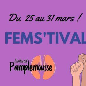 Fems'tival, un festival pour parler des luttes féministes à travers le monde !