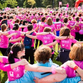 Courir POUR ELLES : la course pour la lutte contre le cancer féminin a réuni 19 000 femmes !
