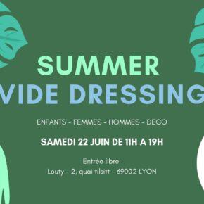 Summer Vide Dressing : profitez de cette journée pour faire du shopping !