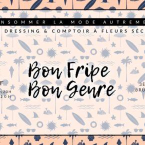 Bon Fripe Bon Genre reste ouvert au mois de juillet !