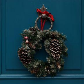 Réalisation de votre couronne de Noël