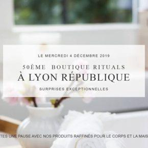 50ème boutique Rituals à Lyon République
