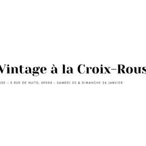 Look-Vintage à la Croix-Rousse ! Friperie vintage