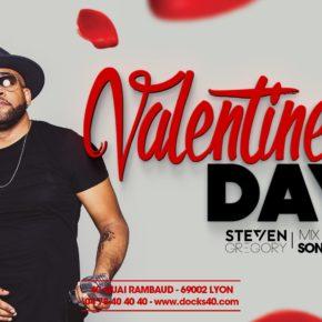 Valentine's Day avec Steven Gregory au DOCKS 40