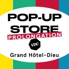 Prolongation du Pop Up Store Village des Créateurs