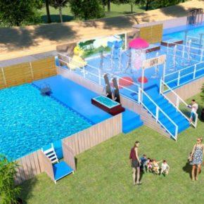 Un piscine temporaire va voir le jour au parc de la Tête d'Or !