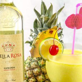 Le vin à l'ananas débarque dans les rayons