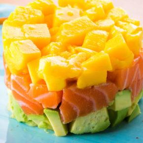 Food : Réalisez un tartare de saumon à la mangue et à l'avocat